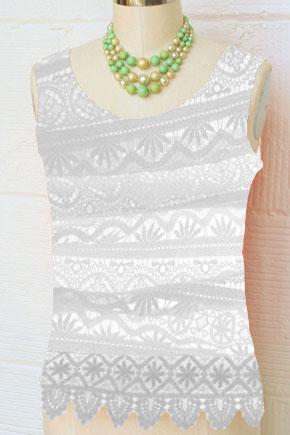 White Lace Sobretto
